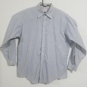 Brooks Brothers Mens 17-35 Button Up Dress Shirt
